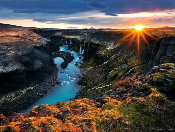 in-the-highlands-at-sunrise-iceland-by-paul-marcellini--46333