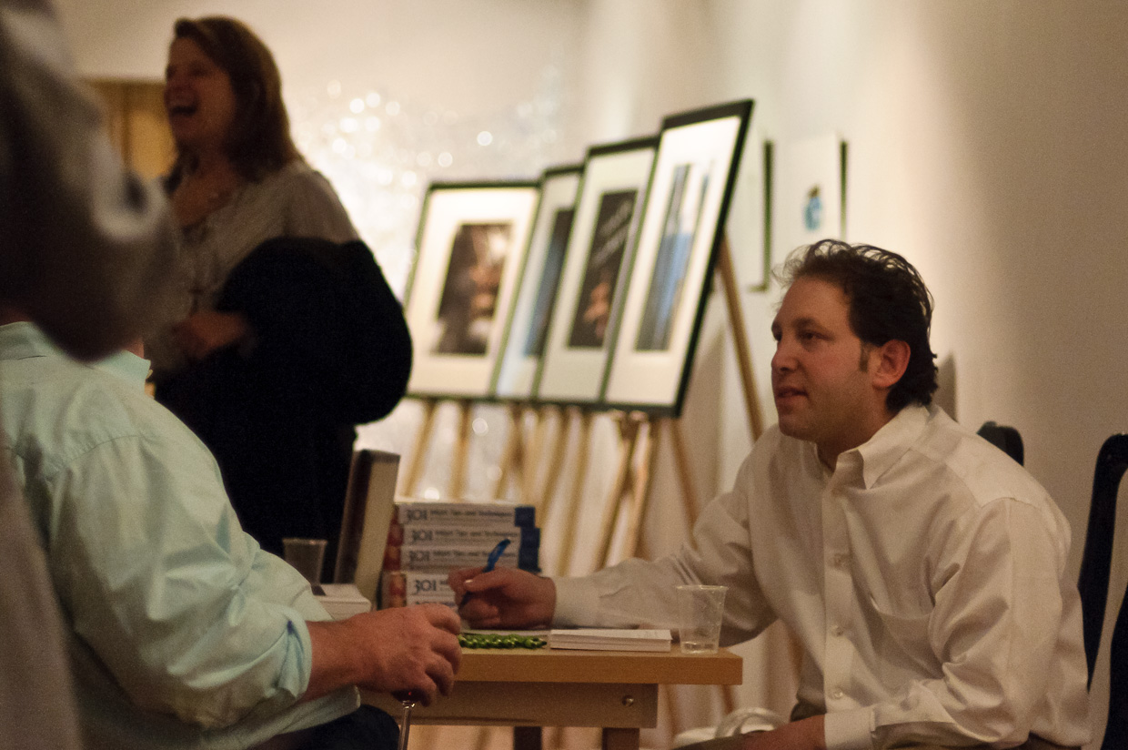 Andrew Darlow's Book Signing