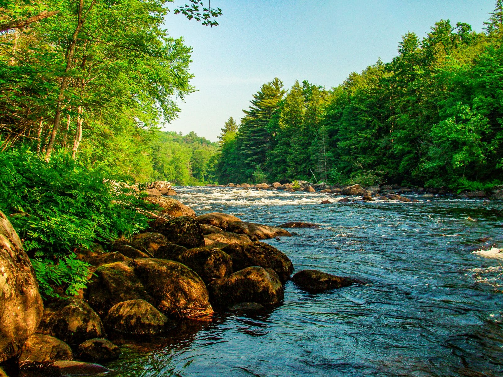 Schroon River Photograph