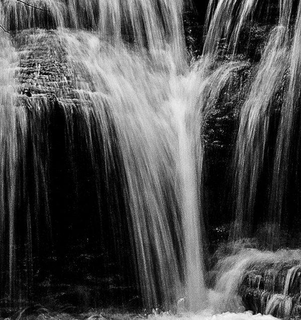 Glen Falls water falls photograph