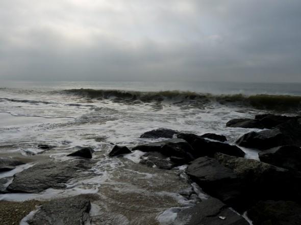 ocean-rocks by the sea