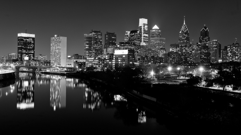 cityscape -philadelphia-night