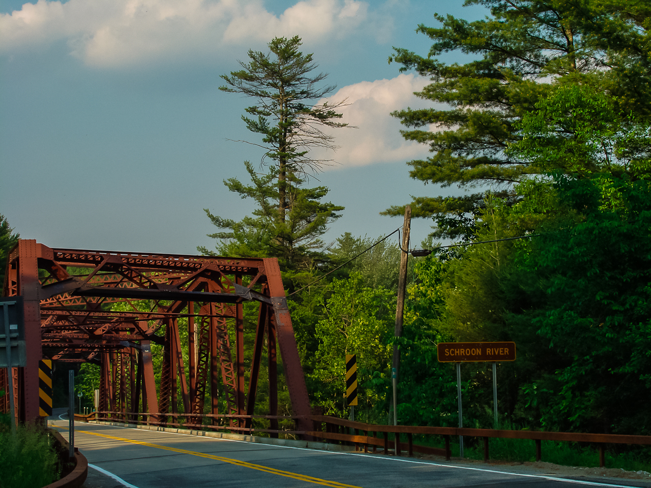 Bridge over the Schroon River