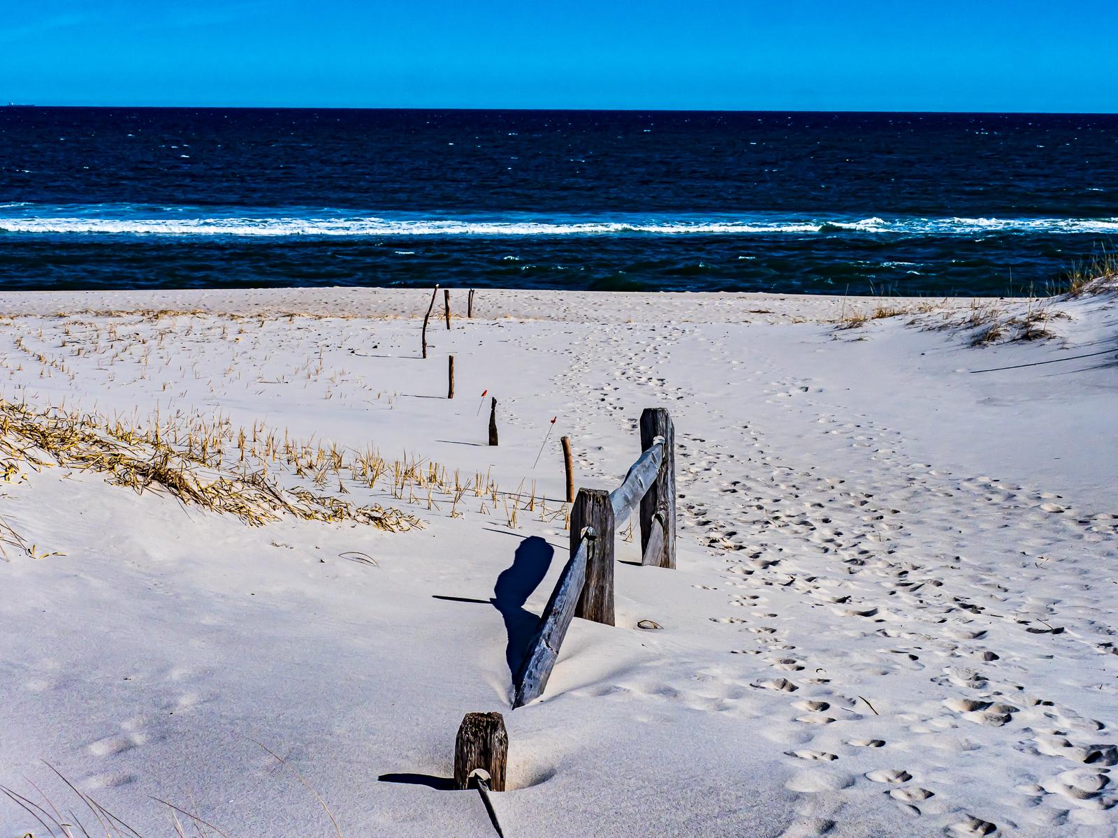 Beach at  Beach Island