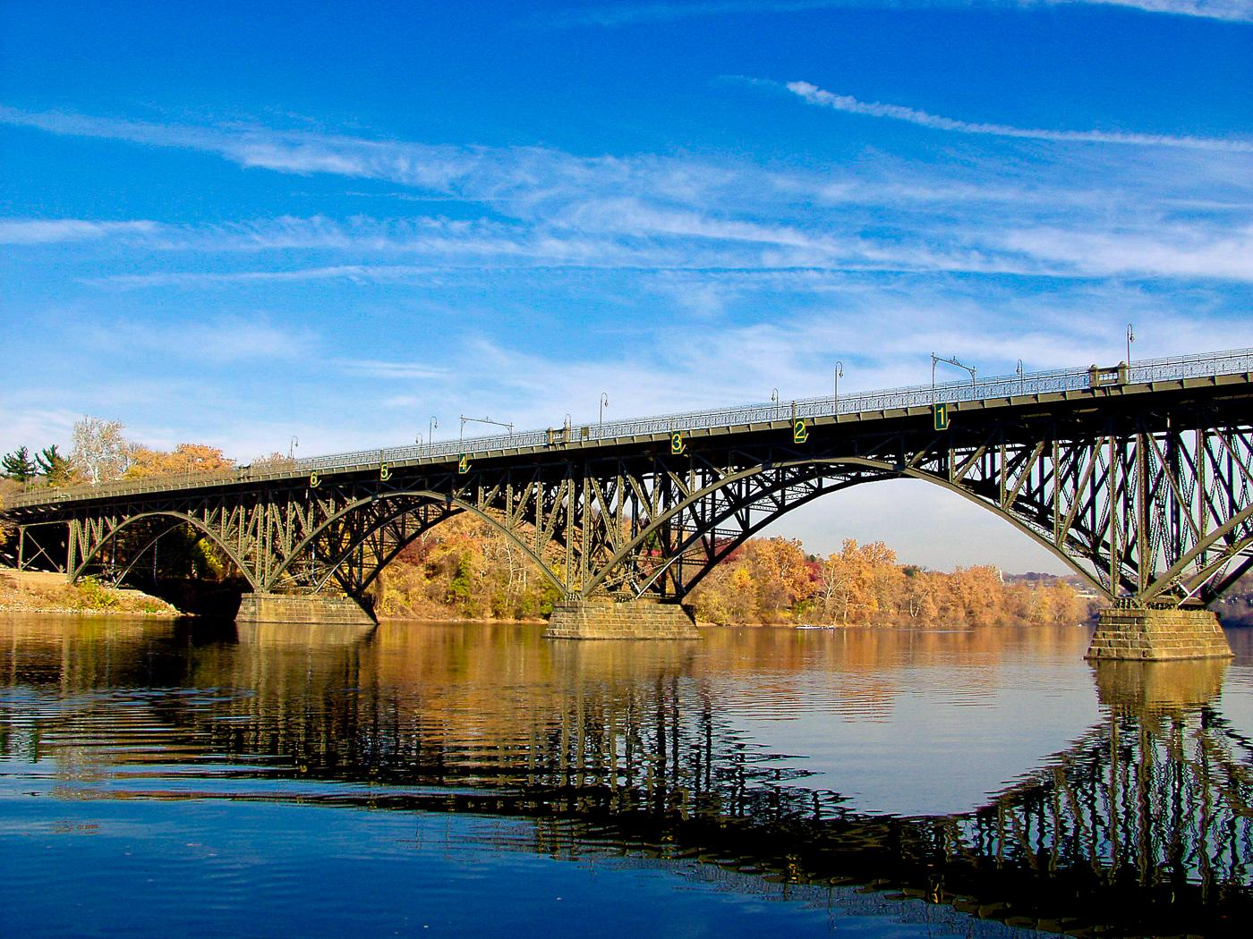 Photograph of the strawberry-mansion-bridge Philadelphia