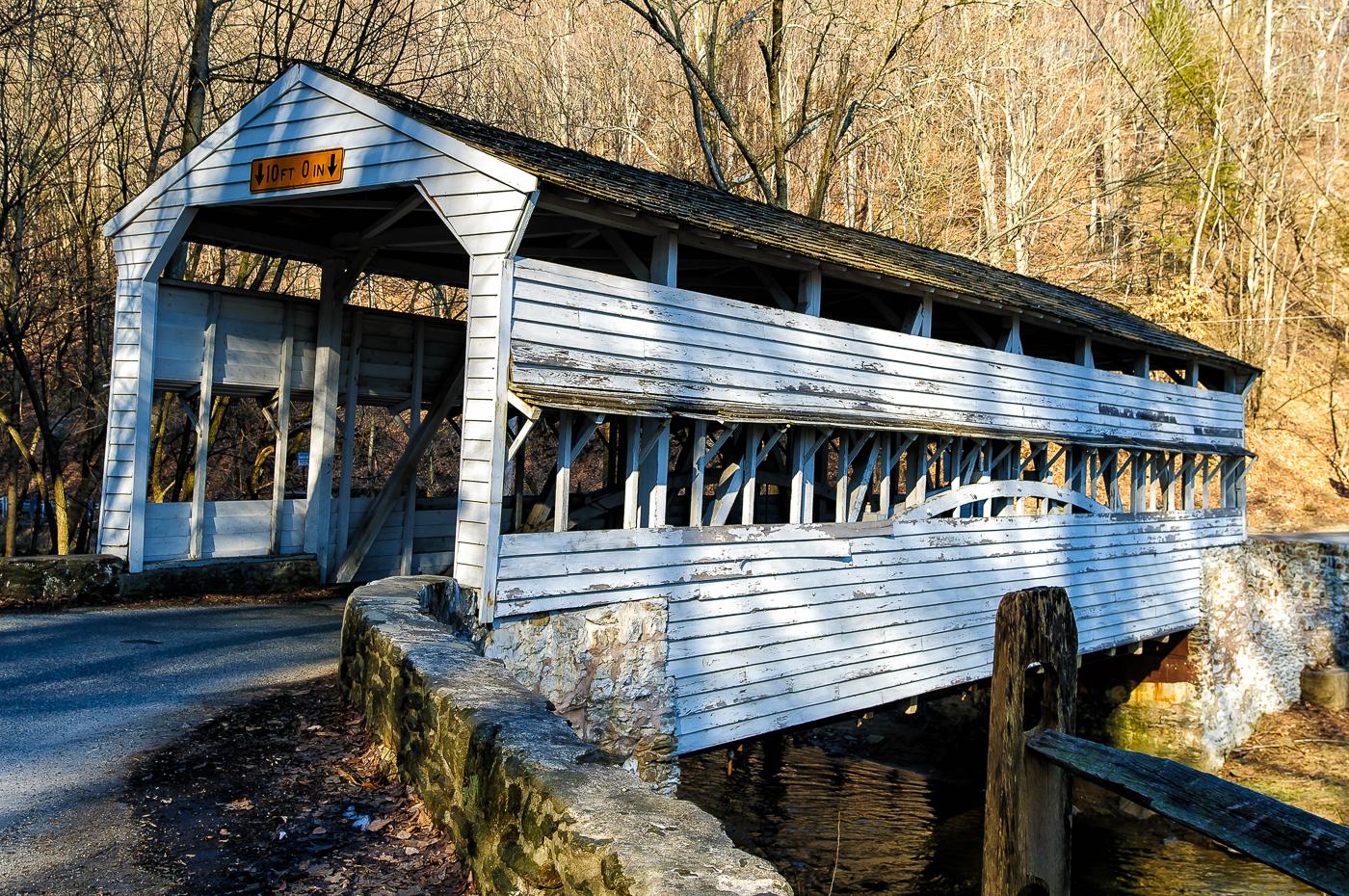 covered bridge photograph 4