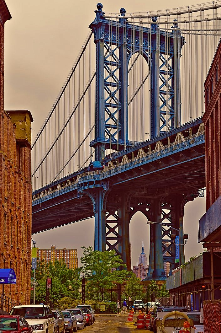 Brooklyn- DUMBO- Manhattan Bridge