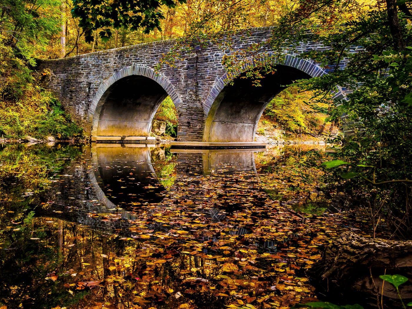 wissahickon park bridge