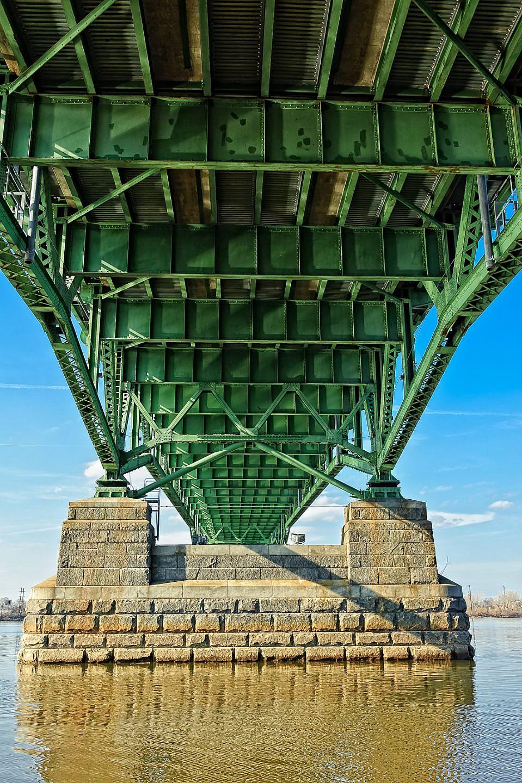 under the palmyra-bridge-