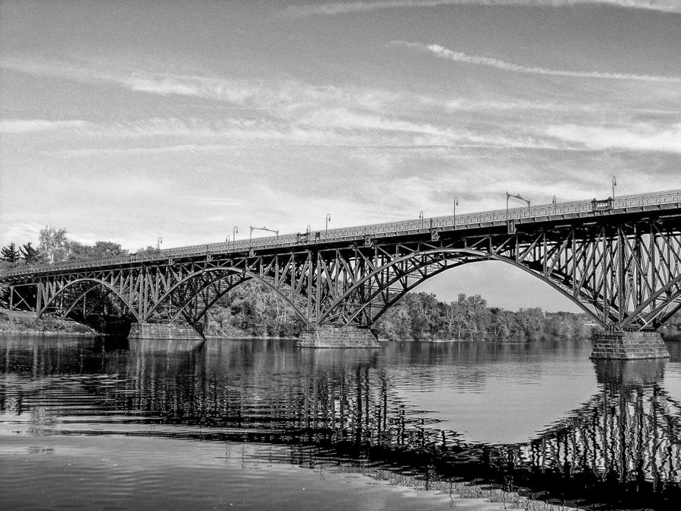 black-and-white-photo-bridge
