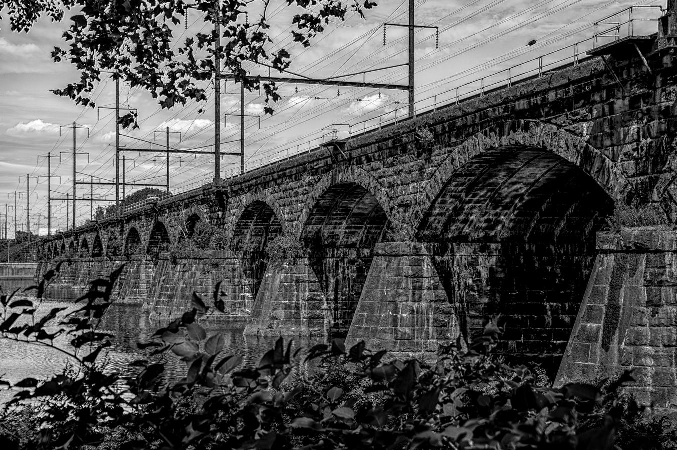 Trenton Railroad bridge photo