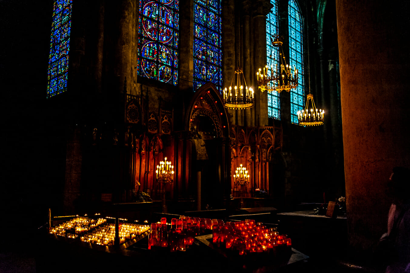 Notre Dame Cathedral Candles Photo