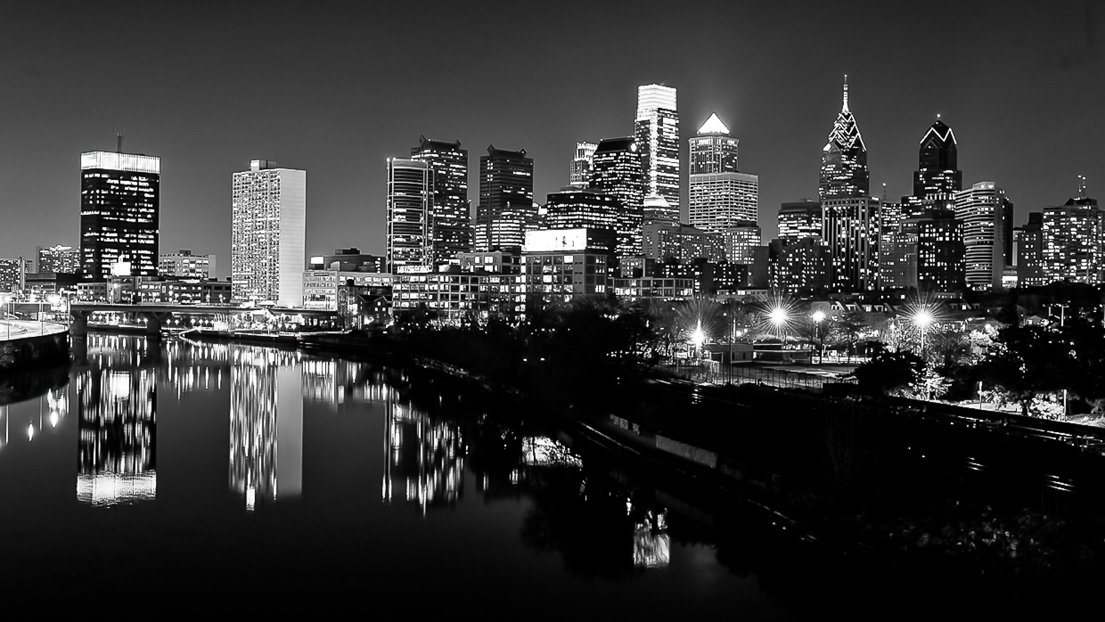 from 23th street bridge Philadelphia