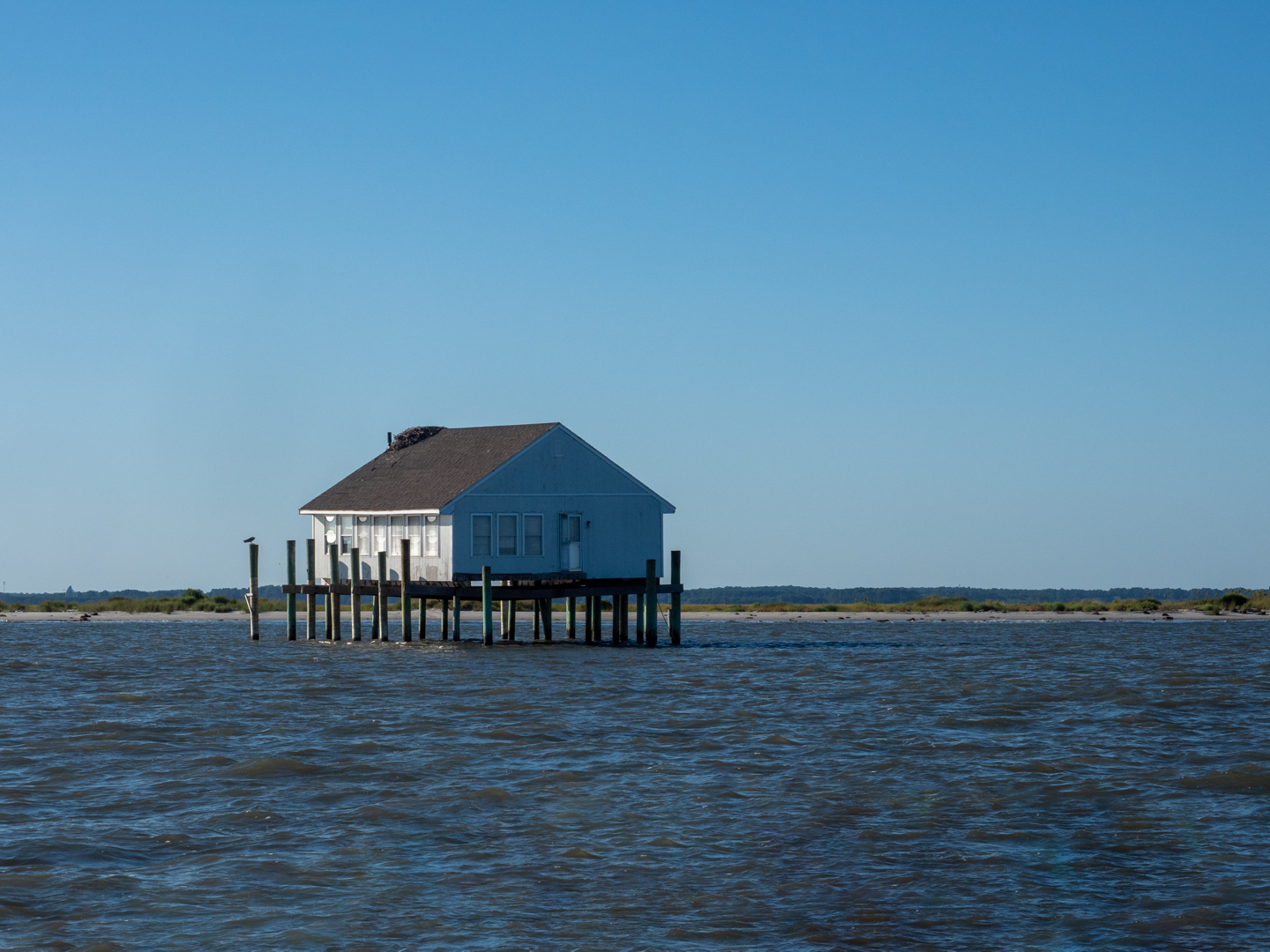House in the ocean Photo