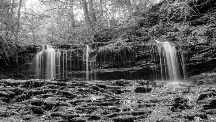 Water Falls at Ricketts Glen State Park 9-27-2019