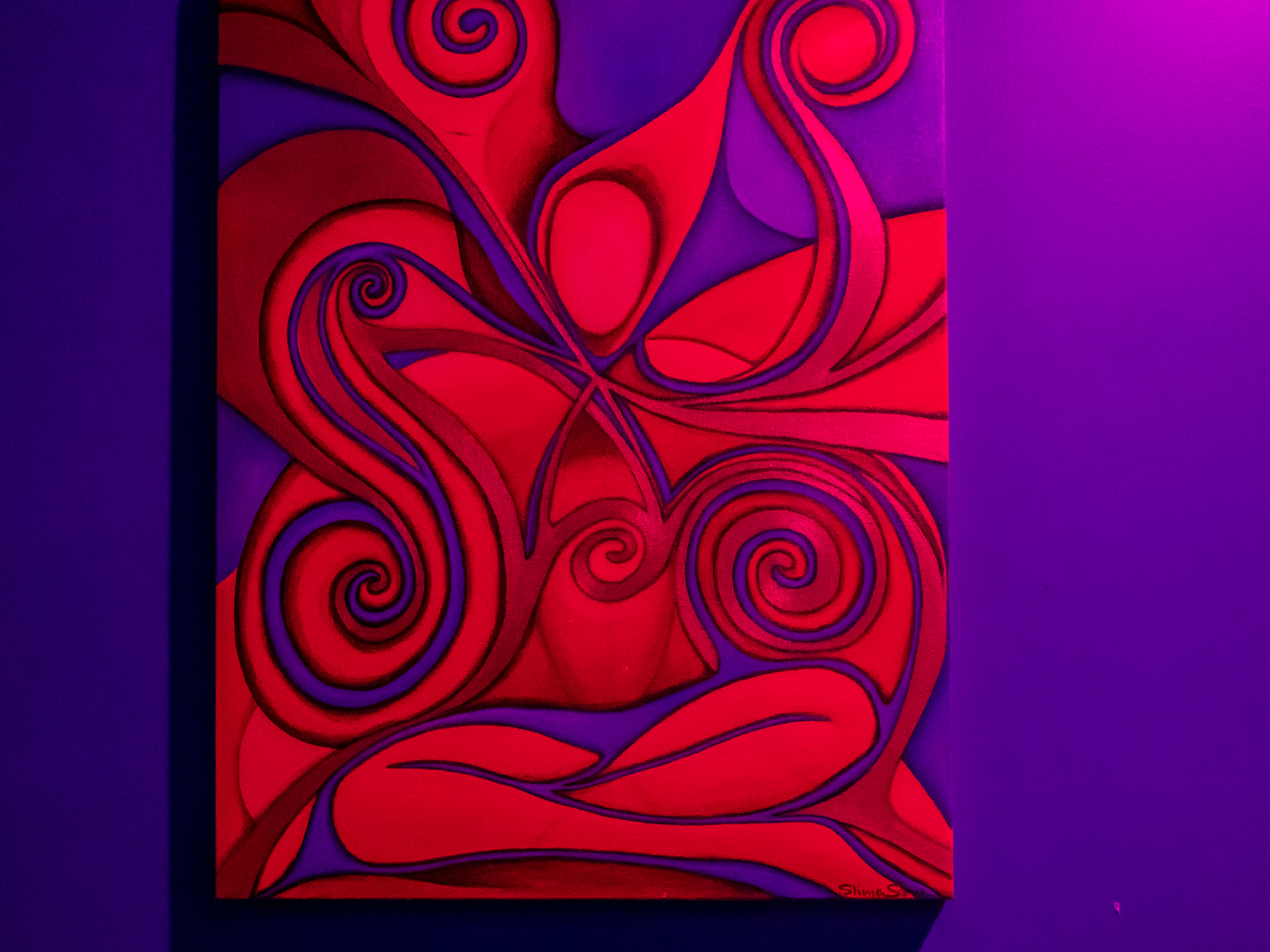 Red Artwork Photo