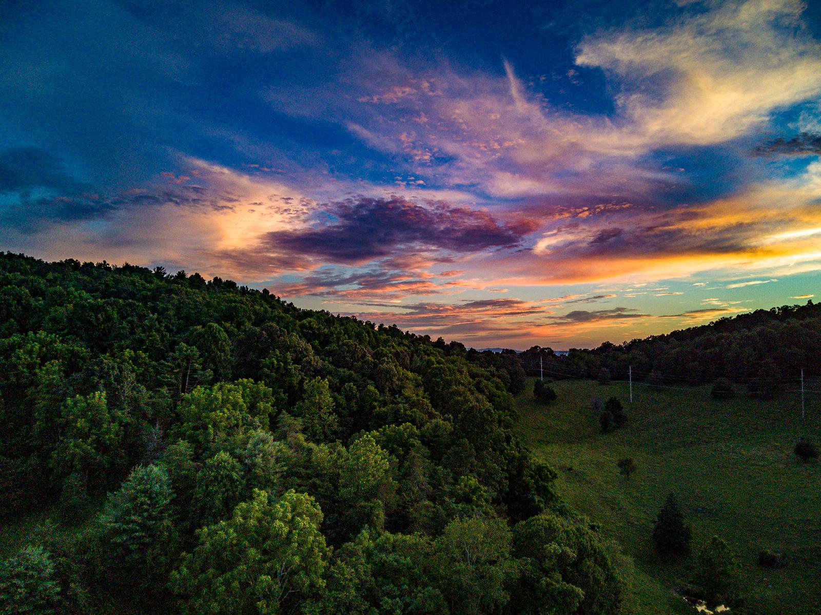 Shenandoah Valley Sunset Photo