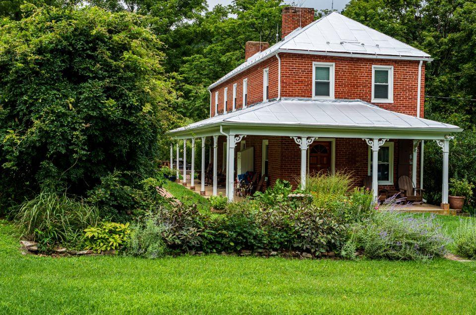 Farm house beauity photo