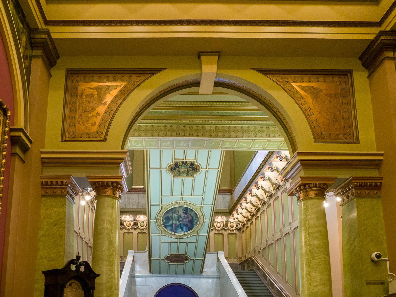 Photographs of the Masonic Temple